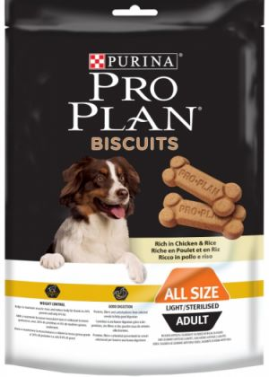 PRO PLAN Biscuits Light Chicken+Rice 400 g